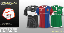 FC'12 Switzerland Super League 2017/18 kits