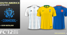 FC'12 Nations – South America 2018 [World Cup edition]