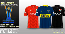 FC'12 Argentina – Superliga 2018 kits