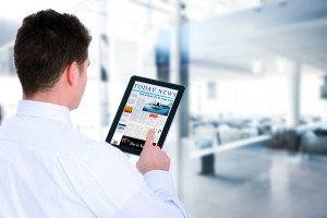 photodune tablet news 1 - Waiting at the airport