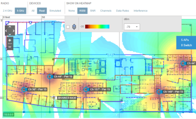 Geo tracking heatmap 300x183 - Sensor Based Real-Time Space Utilization Technologies