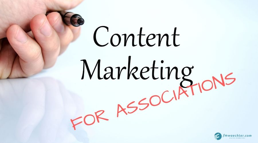 content marketing for associations