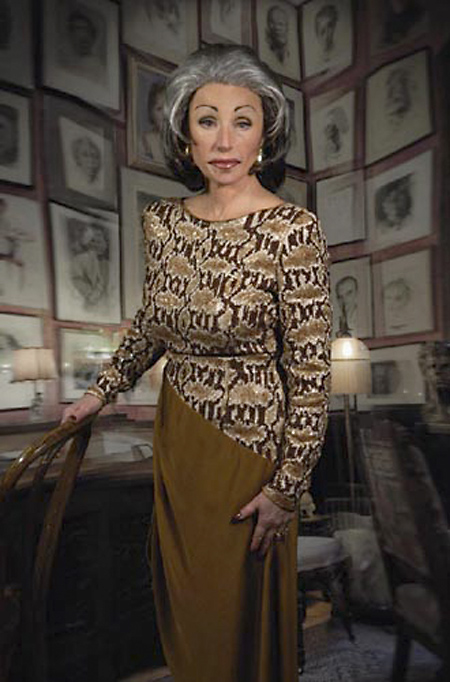 Cindy Sherman can photograph herself as long as she wants and she can be whoever she wants to be.