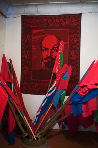 Lenin and His Flags