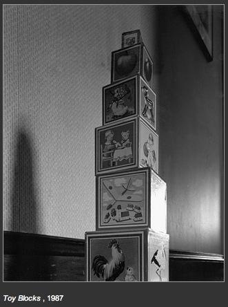 Toy Blocks, 1987, Abe Morell