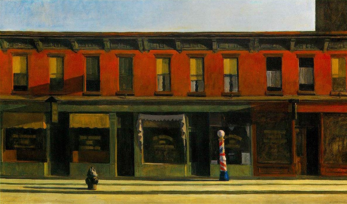Early Morning Light, 1930, Edward Hopper
