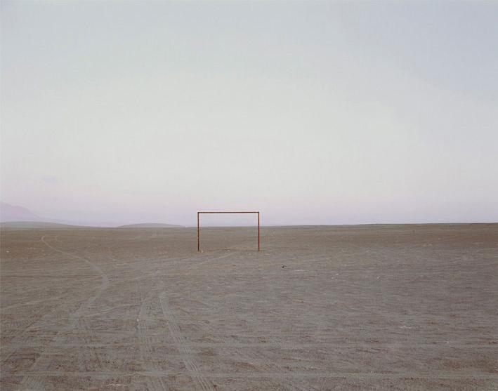 Goal Post, Chile, by Nadav Kander