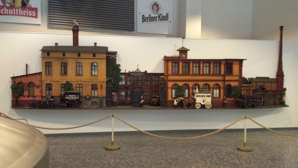 Berliner Kindl - miniature udgave af det gamle bryggeri