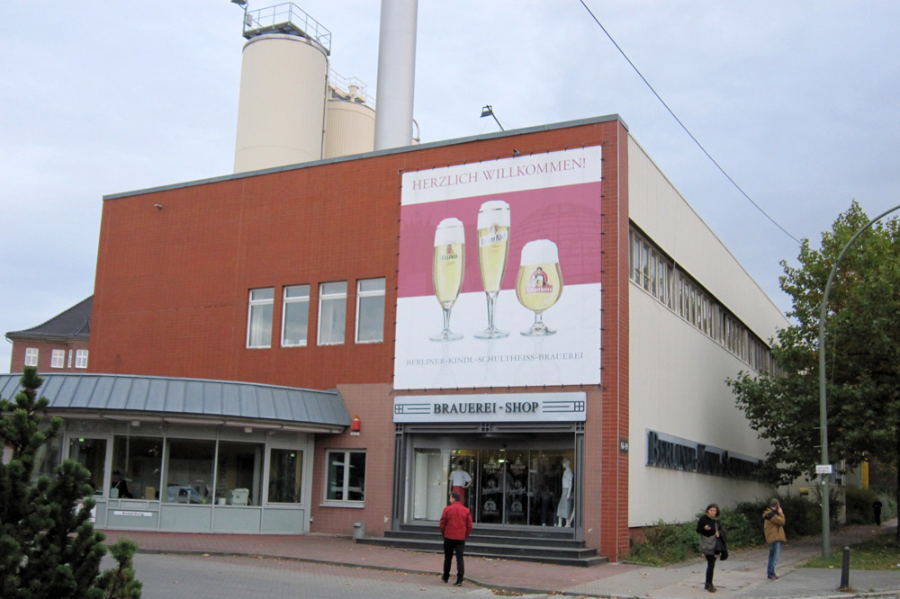Berlins 12 distrikter - Berliner Kindl Schultheiss Brauerei