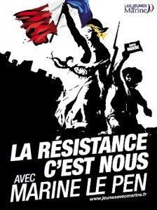 Journal de la résistance française : sympathisants, militants, en avant toute ! dans Présidentielles 2012 Resistance-Marine-Le-Pen