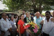 Tout au long de cette première journée, elle a pu visiter un temple Tamoul, rencontrer plusieurs associations citoyennes, ainsi que visiter une entreprise pour échanger sur les problématiques économiques locales.