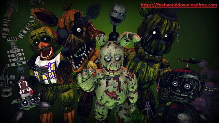 FNaF 3 PC Game Updated Download Free