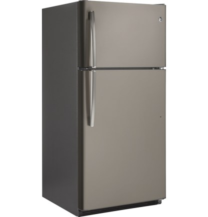 美國奇異GTS21FMKES消光灰色上下門冰箱