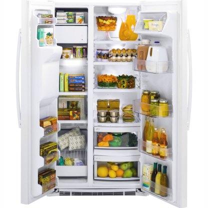 美國奇異 GZS22DGJWW (GZS22DGWW)純白色對開冰箱