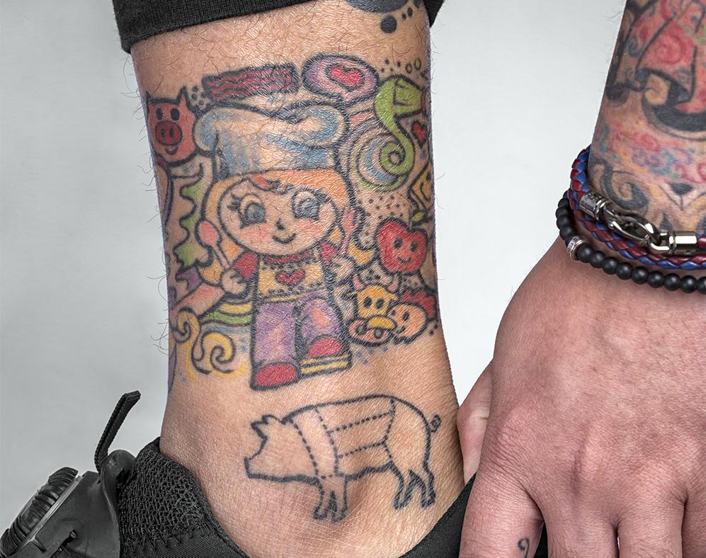 Tattooed Chef