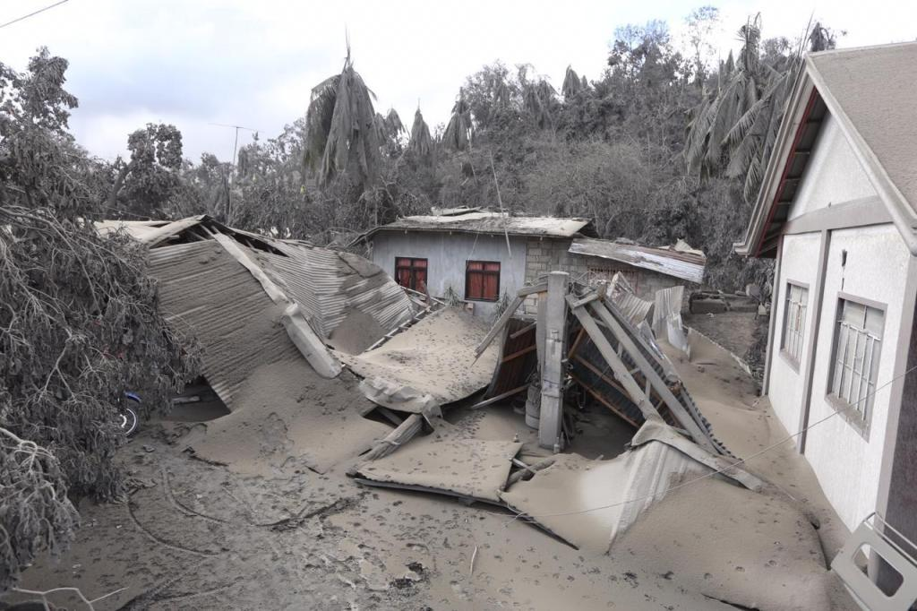 Ashfall in areas around Taal caused agriculture billions worth of damage
