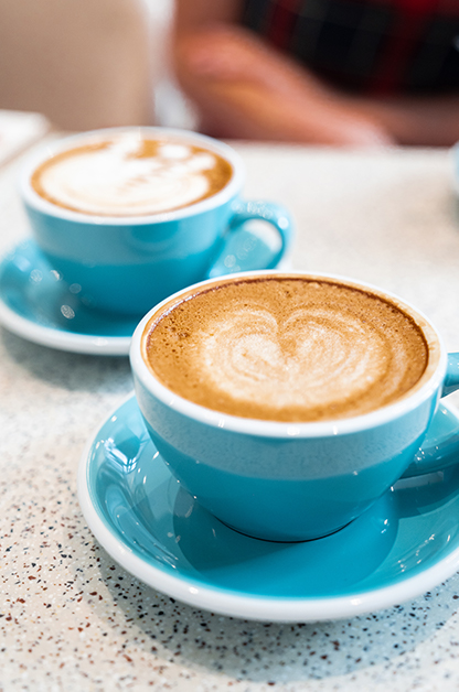 Coffee is the most income-generating item in Habitual Coffee's menu