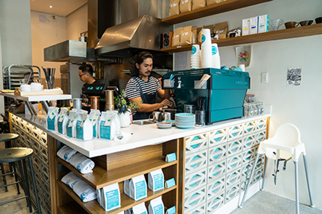 Habitual Coffee is known for their AeroPress Coffee as one of the owners, Kaye Ong, is a world champion in the field of AeroPress brews