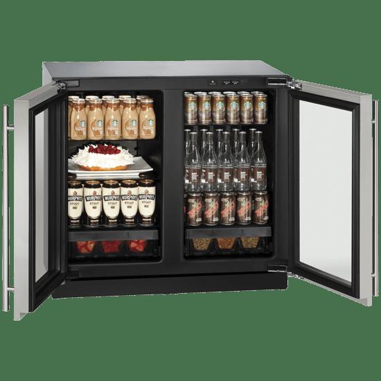 3036RRGL 玻璃門冷藏櫃