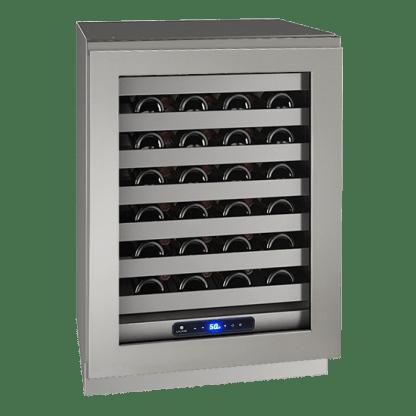 美國 U-LINE UHWC524 酒櫃(無門把不鏽鋼門框)