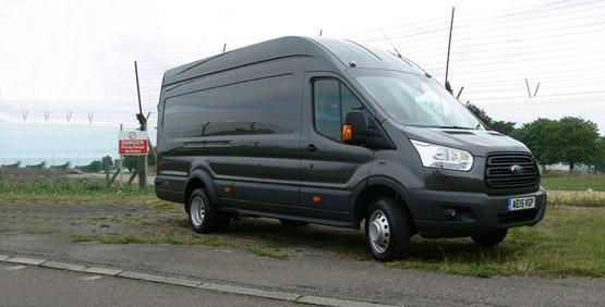First drive: Ford Transit Jumbo L4H3 Base van review ...
