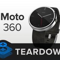 Motorola Moto 360 im Ifixit Teardown - Reparaturindex mit nur 3 von 10, Akku mit 300 mAh schlechter als angegeben