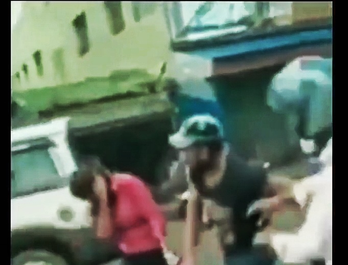 boyfriend catches girlfriend cheating and takes back scooty that he gifted her