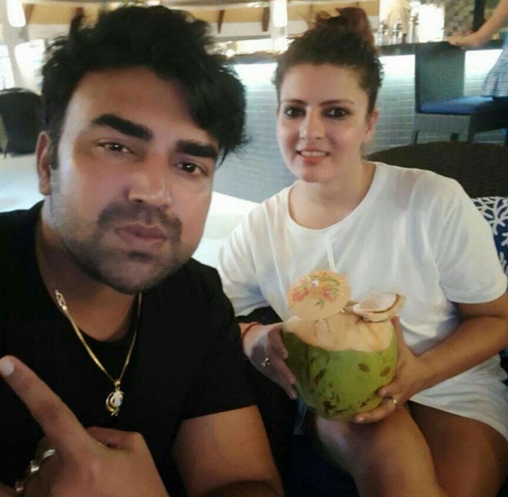 Sandeep Nahar wife photos