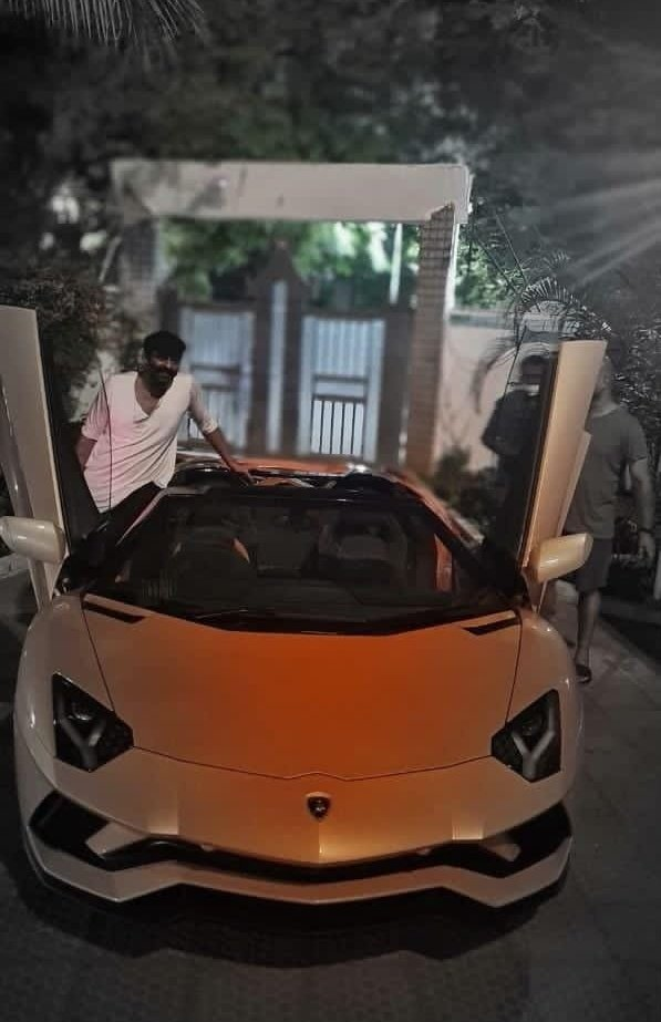 Prabhas Lamborghini Price bought Aventador S