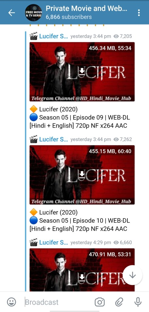 Lucifer Season 5 B Part 2 telegram link download 480p , 720p and 1080p