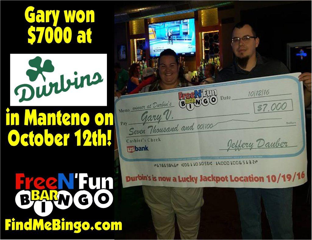 Gary V 10-25-16 Durbins Manteno3