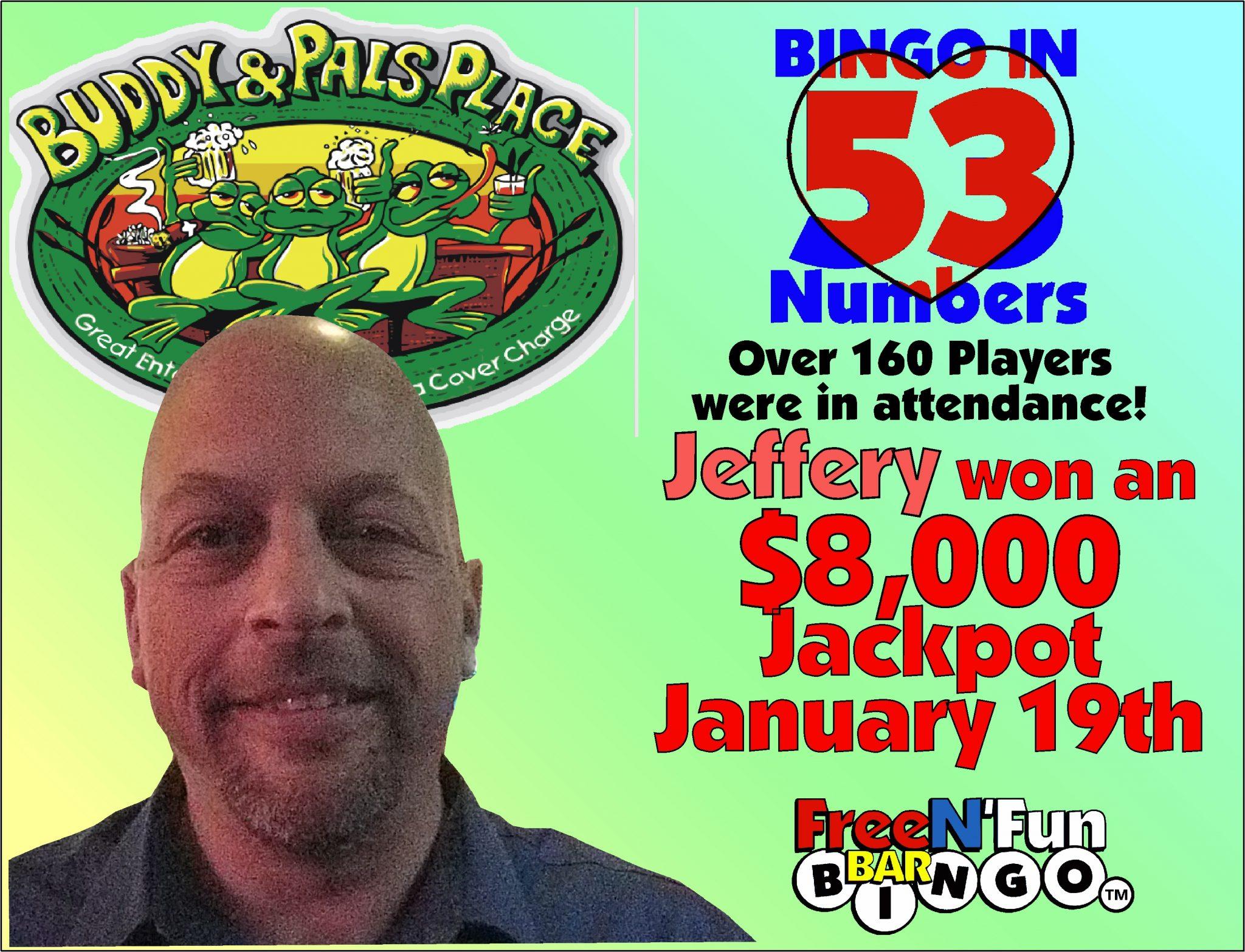 Jackpot Winner 2018