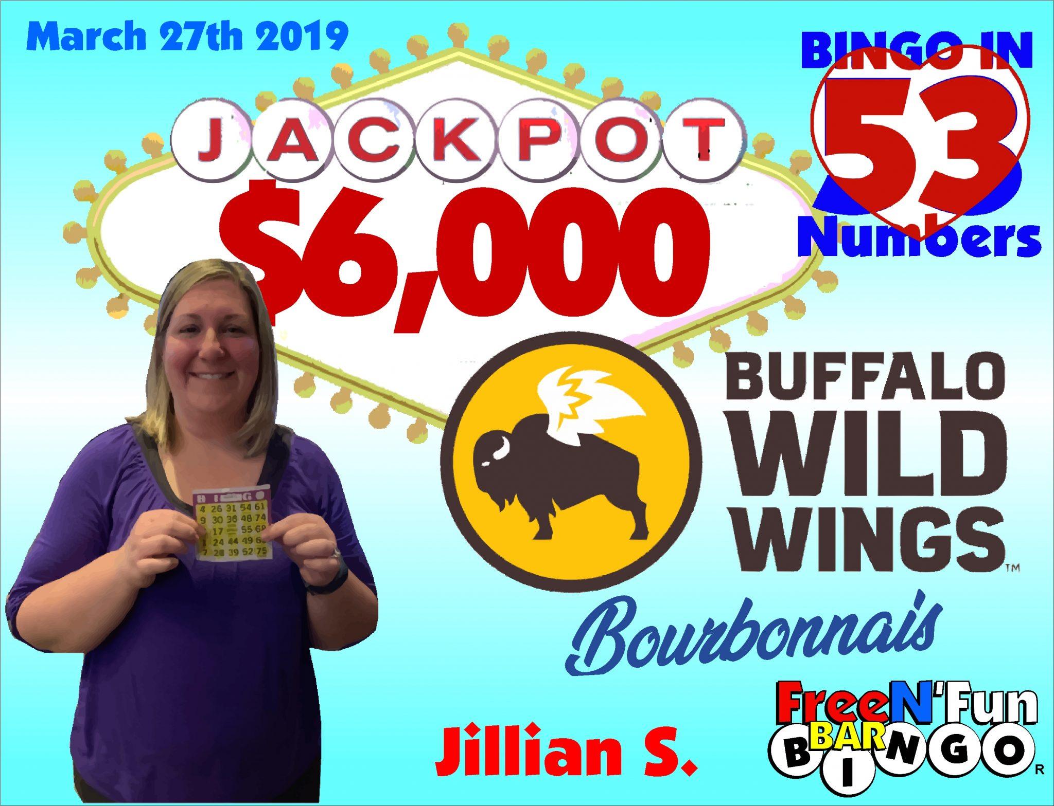 Jackpot Winner 2019 Jillian