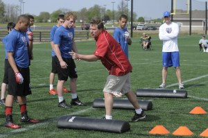 USA Football Regional Development Camp at Grand Park in Westfield Ind.