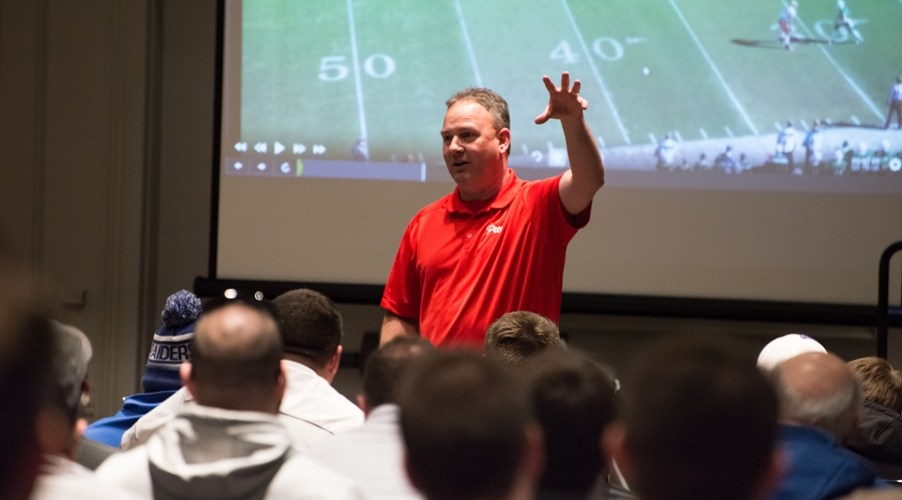 Image result for glazier Football coaching clinic