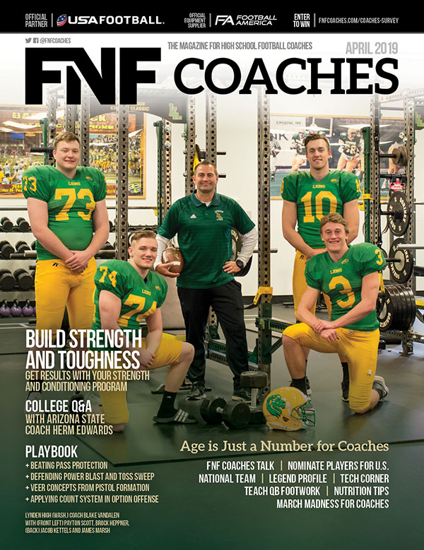 FNF Coaches April 2019