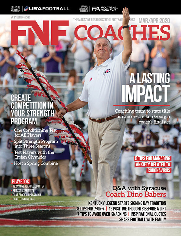 FNF Coaches March/April 2020