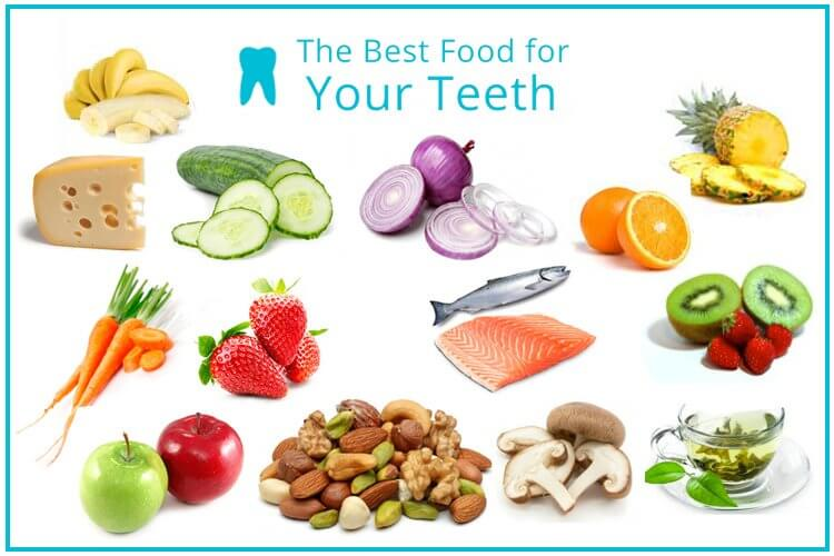 Foods That Are Good For Your Teeth And Gums - Health Blog