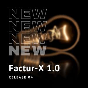 New Release Factur-X 1.0