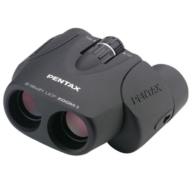 Pentax 62217 UCF II 8-16x21 Zoom Binoculars