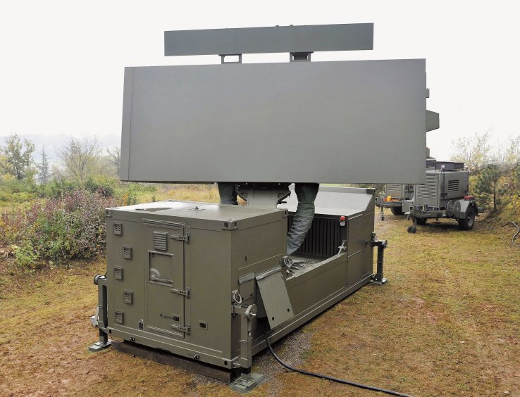 Antenna array for weapon systems with Mil-spec coating, by FNG Precision Coatings