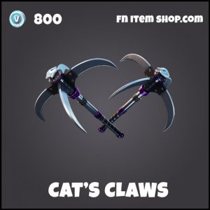 Cat's Claws DC fortnite pickaxe