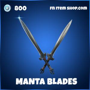 Manta Blades pickaxe Black Manta DC Series fortnite item