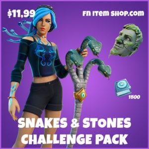 Snakes & Stones Challenge Pack Fortnite Bundle