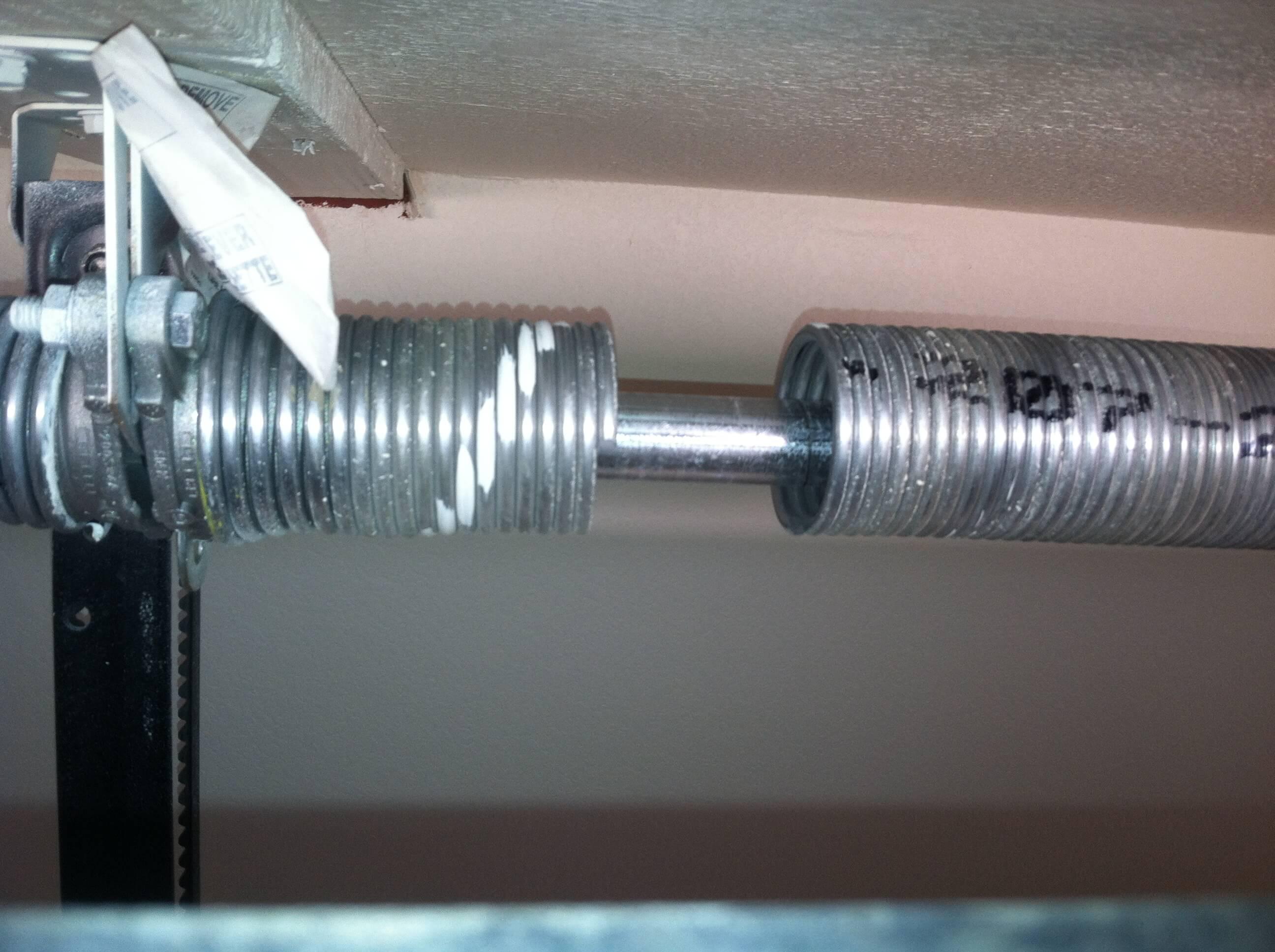 garage door springs f amp j s 24 hour garage door service on Residential Garage Door Springs id=82340