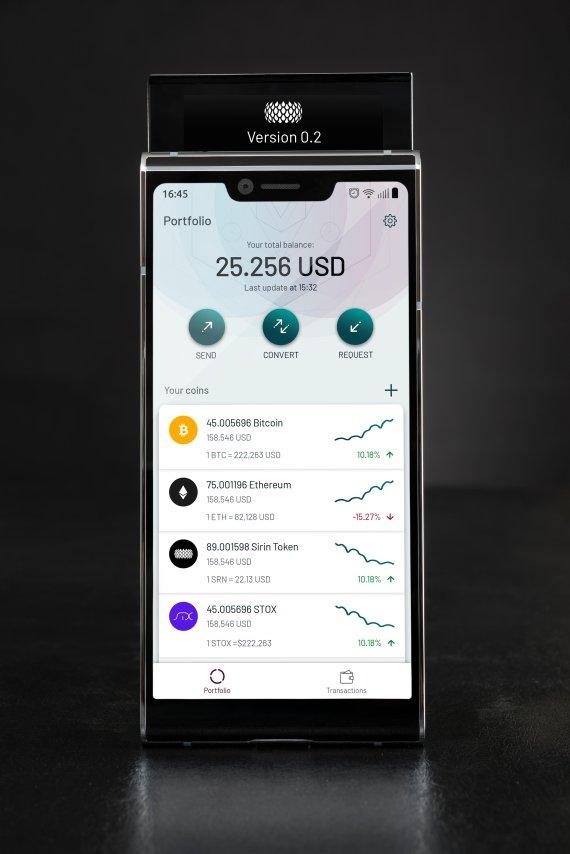 世界初のブロックチェーンスマホ「FINNEY」、仮想通貨決済・送金支援