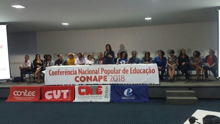 Fórum Nacional Popular de Educação convoca fóruns municipais e estaduais a aderirem à Conape