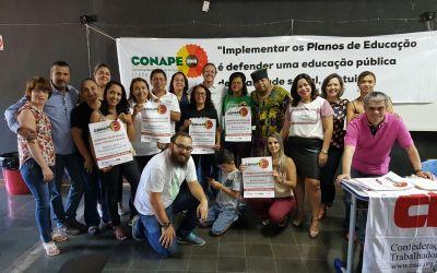 [DF] Professores participaram intensamente da Conape Etapa Brasília