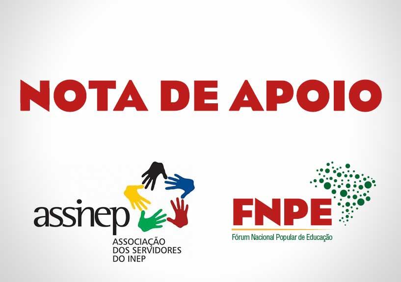 Nota do FNPE em apoio aos Servidores do INEP