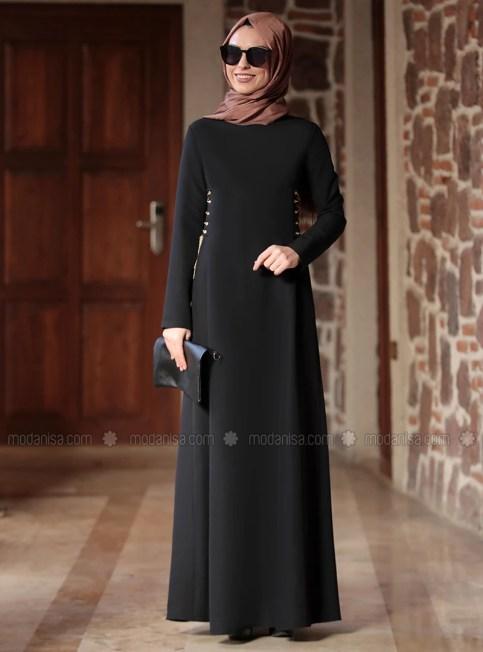 z beste elbise  siyah  rana zenn 636466 1 2020 Bahar Sezonunun En Şık Abiye Elbiseleri Modanisada!